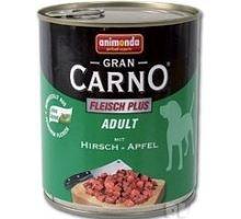 GRANCARNO konzerva Adult jelení maso + jablka 800g
