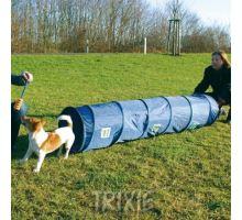Agility tunel - malý pes, štěně, 40cm/2m - modrý