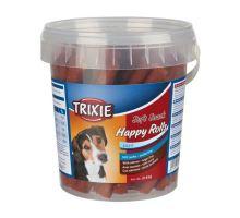 Soft Snack Happy Rolls - tyčinky s lososem, kyblík 500g