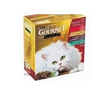Gourmet Gold konzerva kočka kousky masa Exotic Multi 7x85g