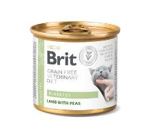Brit VD Cat GF konz. Diabetes 200g