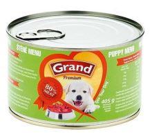 GRAND konz. štěně Menu 405g  VÝPRODEJ