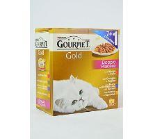 Gourmet Gold konzerva kočka grilované kousky Mix Multi 7x85g
