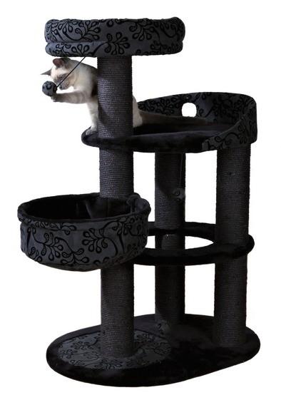 černý péro a černá kočička
