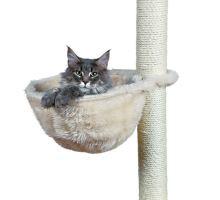 Náhradní odpočívadlo - pytel, plyšové, béžové 38 cm