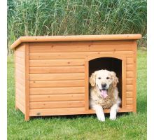 Bouda pro psa, dřevěná, rovná střecha TRIXIE