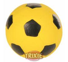 Latexový fotbalový míč - žlutý 11 cm TRIXIE