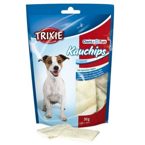 DENTAfun žvýkací chipsy+spirulina 50g