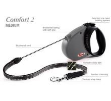 Vodítko FLEXI Comfort 2 5m/20kg Lanko černá VÝPRODEJ