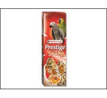 Tyčinky Prestige ořechy a med pro velké papoušky 140g