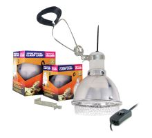 Arcadia Clamp lamp pro D3 UV Basking Lamp