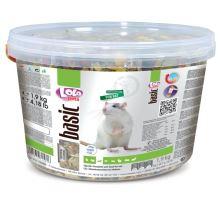 LOLO BASIC kompletní krmivo pro potkany 3 L, 1,9 kg kyblík