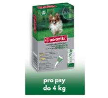 Advantix pro psy spot.on.do 4kg 1x0.4ml