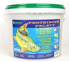 Proteinové pelety pro kapry granule 6mm 5kg Oliheň