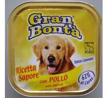 Gran Bonta paštika s kuřecím masem pro psy 150g