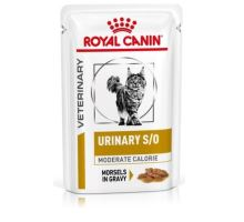 Royal Canin VD Feline Urinary Moderate Calorie Pouch in Gravy 12x0,085kg