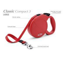 Vyřazeno Vodítko FLEXI Classic Compact 3 (L) 5m/60kg Pásek
