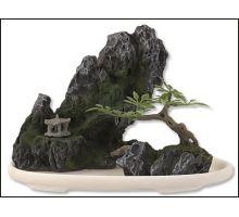 Dekorace akvarijní Bonsai + skála 13 x 7 x 10 cm 1ks