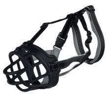 Silikonový náhubek FLEX černý