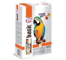 LOLO BASIC zeleninovo/ovocné krmivo pro velké papoušky 900g
