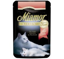 Miamor Cat Ragout Junior kapsa hovězí 100g