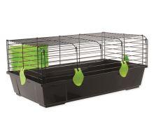 Klec SMALL ANIMAL Matěj černá se zelenou výbavou 1ks