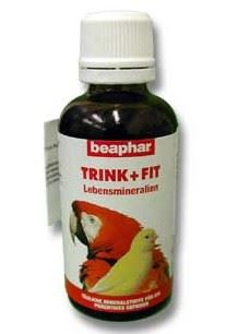 Beaphar minerální kapky Trink Fit exoti 50ml