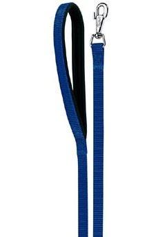 Vodítko nylon DAYTONA Ploché modré 120-200 / 20