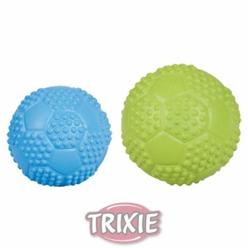 Sportovní míč z tvrdé gumy se zvukem 5,5 cm