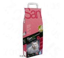 SANICAT Prof. 7 DAYS - kočkolit s vůní ALOE VERA 4 L/2,36kg