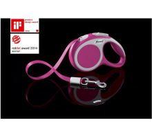 Vodítko FLEXI VARIO Pásek XS 3m/12kg růžová