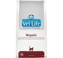 Vet Life Natural CAT Hepatic 2 balení 10kg