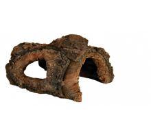 Dekorace stromová kůra - jeskyně 15 cm