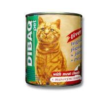 Dibaq Pet kočka konz. Játra 810g
