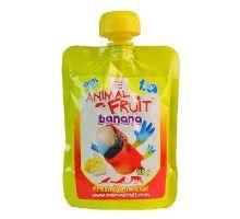 ANIMAL FRUIT kaps.Banán papoušci 120g Syrio