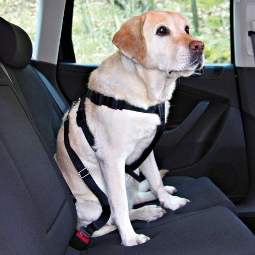 Postroj pes Bezpečnostní do auta XL 80-110cm VÝPRODEJ