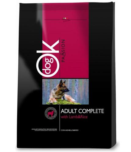 OK Dog Passion Adult Complet Lamb Rice 12,5kg
