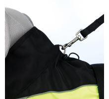Reflexní obleček SAFETY černo-žlutý M 50 cm VÝPRODEJ