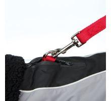 Zimní obleček MARNE černý, s průvlekem na vodítko TRIXIE XS 27 cm