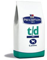 Hill's Canine T/D Dry 10kg