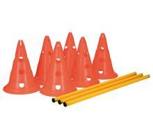 Dog Activity překážky (3 ks) 23 x 30 cm/78 cm oranž/žlutá