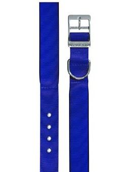 Obojek nylon DAYTONA C modrý 63cmx40mm