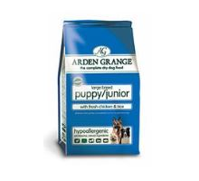 Arden Grange Puppy/Junior Large Breed with fresh Chicken & Rice 2 balení 12kg
