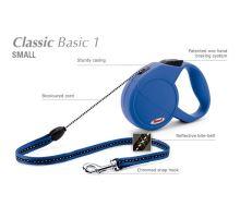 Vodítko FLEXI Classic 1 (S) 5m/12kg Lanko Modrá
