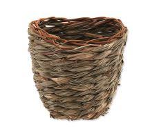 Hnízdo SMALL ANIMAL Košík travní pletené 15 x 10 x 15 cm 1ks VÝPRODEJ