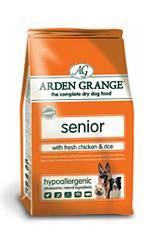 Arden Grange Senior with fresh Chicken & Rice 6kg