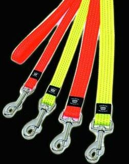 Vodítko nylon ART Sportiv reflex Žluté 200/25 KARLIE