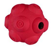Dog Activity - hrbolatý míč na pamlsky, tvrdá guma 11cm