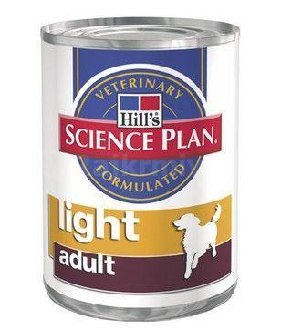 Hill's Canine konzerva Adult Light Chicken 370g