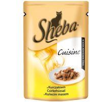 Sheba kapsa Delicato kuřecí v želé 85g